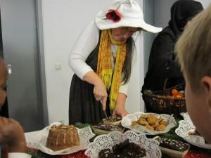 ...und leckeren Kuchen...