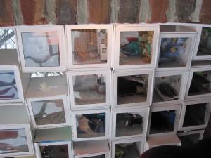 Das sind die MuseobilBOXen, nun im Museum in Pasewalk zu sehen...